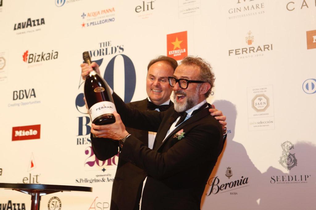 Matteo Lunelli e Massimo Bottura